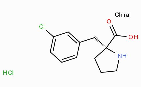 (R)-alpha-(3-chloro-benzyl)-proline-HCl