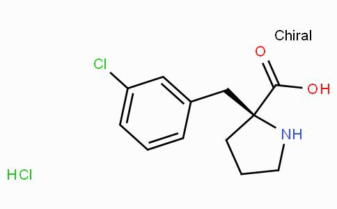 (S)-alpha-(3-chlorobenzyl)-proline-HCl