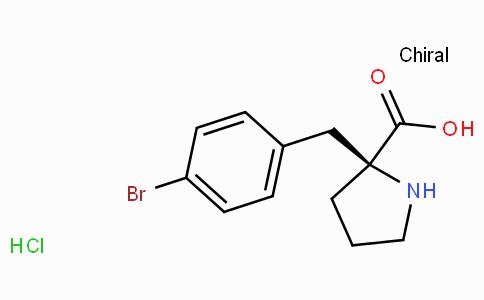 (S)-alpha-(4-bromo-benzyl)-proline-HCl