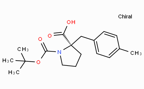 Boc-(R)-alpha-(4-methyl-benzyl)-proline