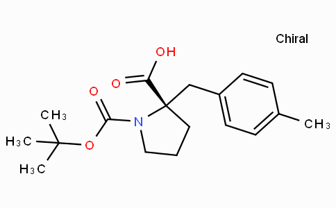 Boc-(S)-alpha-(4-methyl-benzyl)-proline
