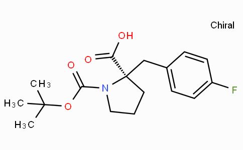 Boc-(R)-alpha-(4-fluoro-benzyl)-proline