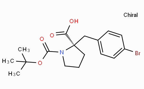 Boc-(R)-alpha-(4-bromo-benzyl)-proline