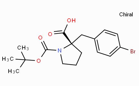 Boc-(S)-alpha-(4-bromo-benzyl)-proline