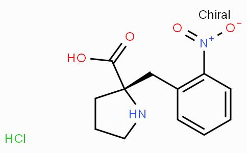 (S)-alpha-(2-nitro-benzyl)-proline-HCl
