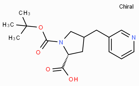 Boc-(R)-gamma-(3-pyridinyl-methyl)-L-proline