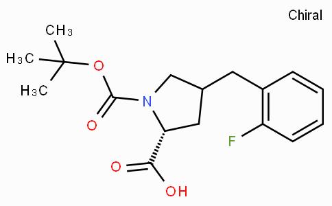 Boc-(R)-gamma-(2-fluoro-benzyl)-L-proline