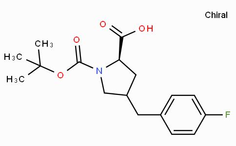 Boc-(R)-gamma-(4-fluoro-benzyl)-L-proline