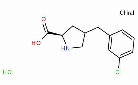 (R)-gamma-(3-chloro-benzyl)-L-proline-HCl