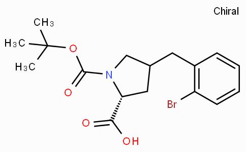 Boc-(R)-gamma-(2-bromo-benzyl)-L-proline
