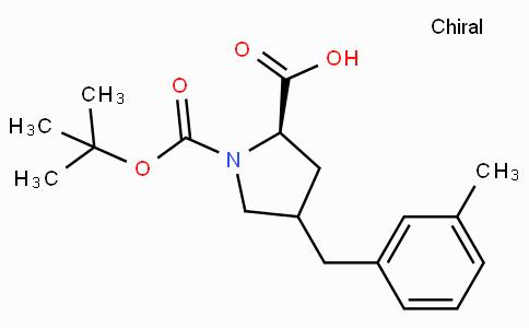 Boc-(R)-gamma-(3-methyl-benzyl)-L-proline