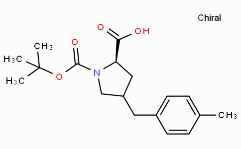 Boc-(R)-gamma-(4-methyl-benzyl)-L-proline