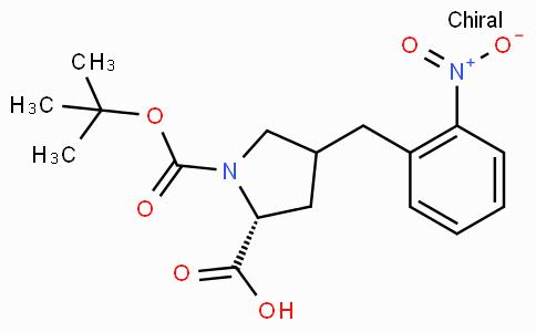 Boc-(R)-gamma-(2-nitro-benzyl)-L-proline