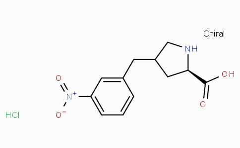 (R)-gamma-(3-nitro-benzyl)-L-proline-HCl
