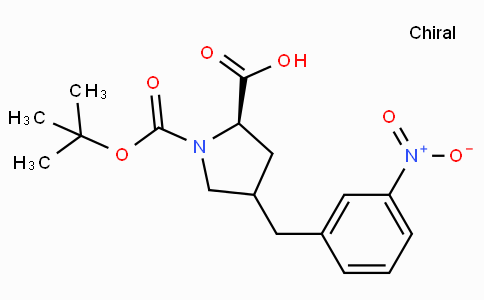 Boc-(R)-gamma-(3-nitro-benzyl)-L-proline
