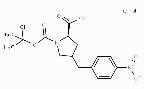 Boc-(R)-gamma-(4-nitro-benzyl)-L-proline