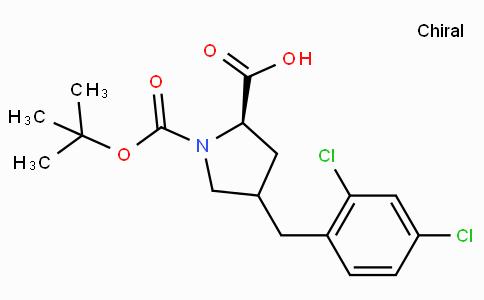 Boc-(R)-gamma-(2,4-dichloro-benzyl)-L-proline