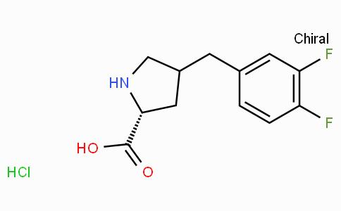 (R)-gamma-(3,4-difluoro-benzyl)-L-proline-HCl