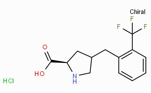 (R)-gamma-(2-trifluoromethyl-benzyl)-L-proline-HCl