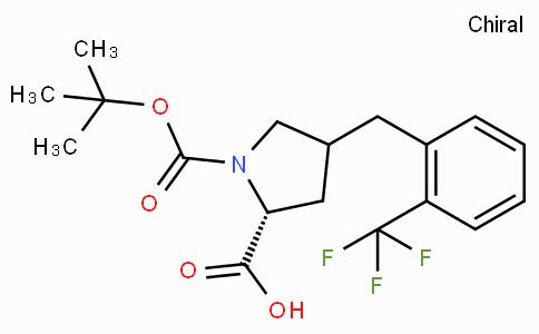 Boc-(R)-gamma-(2-trifluoromethyl--benzyl)-L-proline