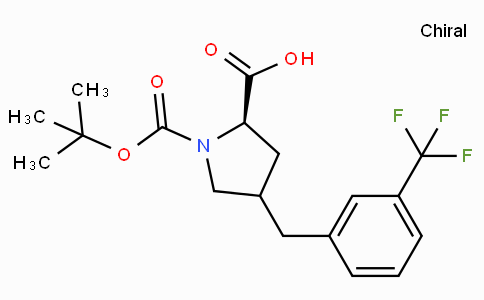 Boc-(R)-gamma-(3-trifluoromethyl--benzyl)-L-proline