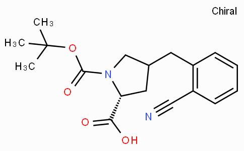 Boc-(R)-gamma-(2-cyano-benzyl)-L-proline