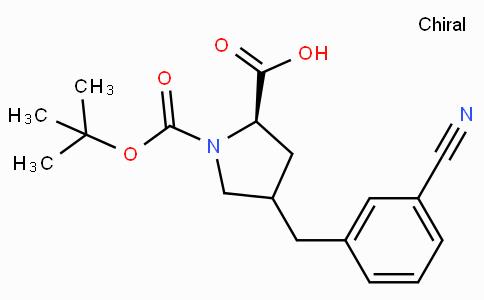 Boc-(R)-gamma-(3-cyano-benzyl)-L-proline