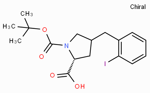 Boc-(R)-gamma-(2-iodo--benzyl)-L-proline
