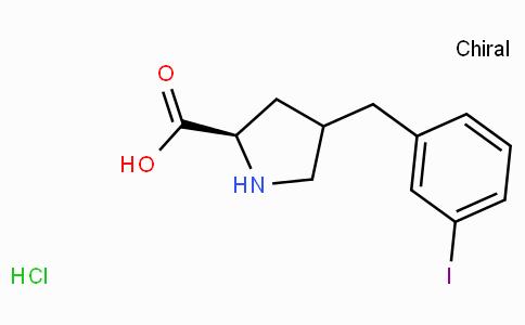 (R)-gamma-(3-iodo--benzyl)-L-proline-HCl