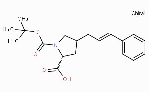 Boc-(R)-gamma-(3-phenyl-allyl)-L-proline