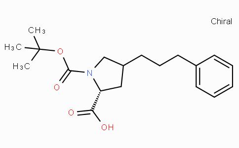 Boc-(R)-gamma-(3-phenyl-propyl)-L-proline