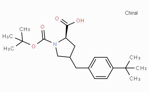 Boc-(R)-gamma-(4-tert-Butyl--benzyl)-L-proline