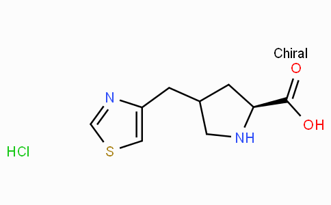 (S)-gamma-(4-thiazolyl-methyl)-L-proline-HCl