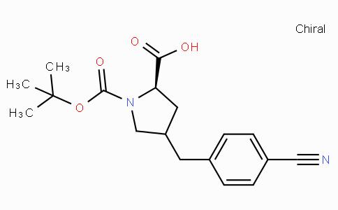 Boc-(R)-gamma-(4-cyano-benzyl)-L-proline
