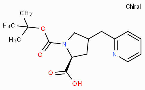 Boc-(S)-gamma-(2-pyridinyl-methyl)-L-proline