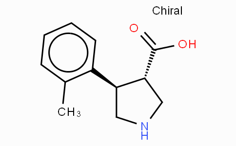 (+/-)-trans-4-(2-methyl-phenyl)-pyrrolidine-3-carboxylic acid-HCl