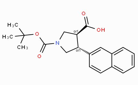 Boc-(+/-)-trans-4-(2-naphthyl)-pyrrolidine-3-carboxylic acid
