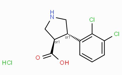 (+/-)-trans-4-(2,3-dichloro-phenyl)-pyrrolidine-3-carboxylic acid-HCl