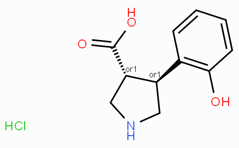(+/-)-trans-4-(2-hydroxy-phenyl)-pyrrolidine-3-carboxylic acid-HCl