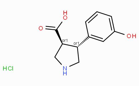 (+/-)-trans-4-(3-hydroxy-phenyl)-pyrrolidine-3-carboxylic acid-HCl