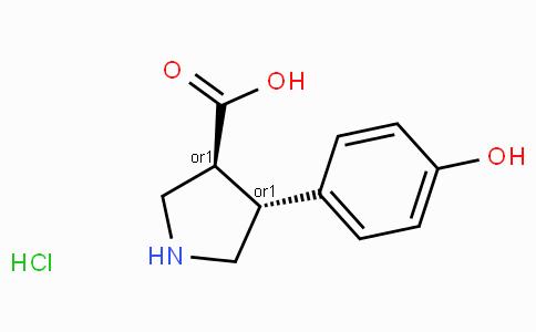 (+/-)-trans-4-(4-hydroxy-phenyl)-pyrrolidine-3-carboxylic acid-HCl