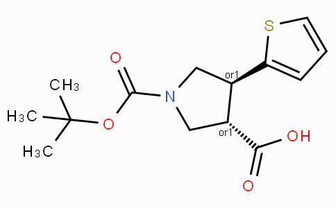 Boc-(+/-)-trans-4-(2-thienyl)-pyrrolidine-3-carboxylic acid
