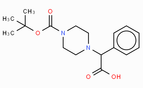 2-(4-Boc-piperazinyl)-2-phenylacetic acid