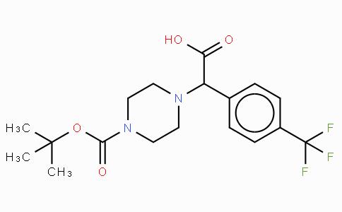 2-(4-Boc-piperazinyl)-2-(4-trifluoromethyl-phenyl)acetic acid