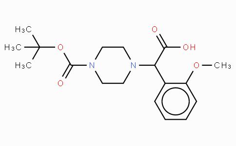 2-(4-Boc-piperazinyl)-2-(2-methoxy-phenyl)-acetic acid