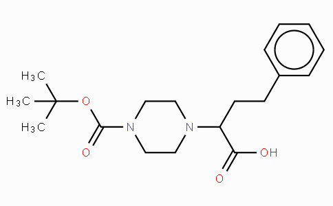 2-(4-Boc-piperazinyl)-4-phenylbutanoic acid