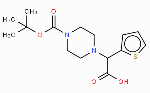 2-(4-Boc-piperazinyl)-2-(2-thienyl)-acetic acid