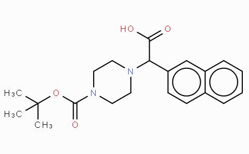2-(4-Boc-piperazinyl)-2-(2-naphthalenyl)acetic acid