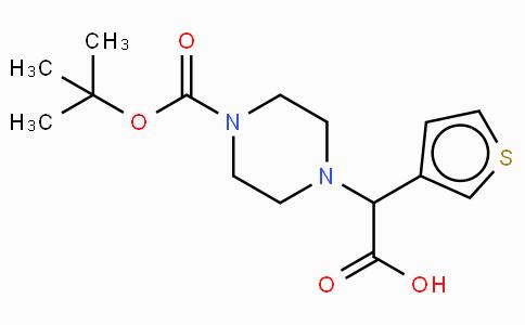 2-(4-Boc-piperazinyl)-2-(3-thienyl)acetic acid