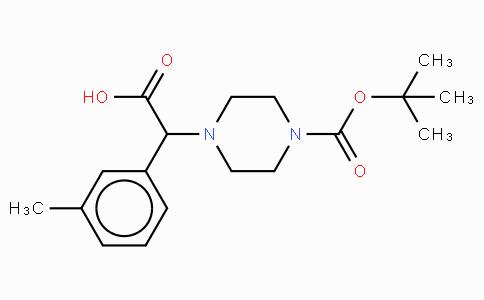 2-(4-Boc-piperazinyl)-2-(3-methyl-phenyl)acetic acid